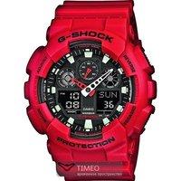 Мужские часы Casio G-shock GA-100B-4A кварцевые