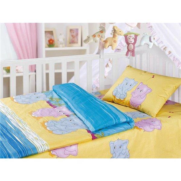 Комплект детского постельного белья (1,5 спальное) Облачко 0814 4054/1+4055/1 БЛ13 15