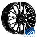 Диски 1000 Miglia MM1009 8x18 5/112 ET35 d66.6 Gloss Black Polished - фото 1