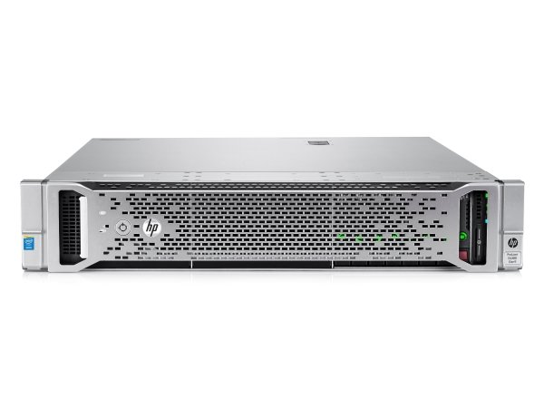 Сервер HP Proliant DL380 Gen9 E5-2609v3 Rack(2U)/Xeon6C 1.9GHz(15Mb) /1x8GbR1D_2133/B140i (ZM/RAID 0/1/10/5)/ noHDD(4)LFF/DVD (not avail.)/iLOstd/ 4HPFans/4x1GbEth/EasyRK/ 1x500wPlat(2up) (766342-B21)