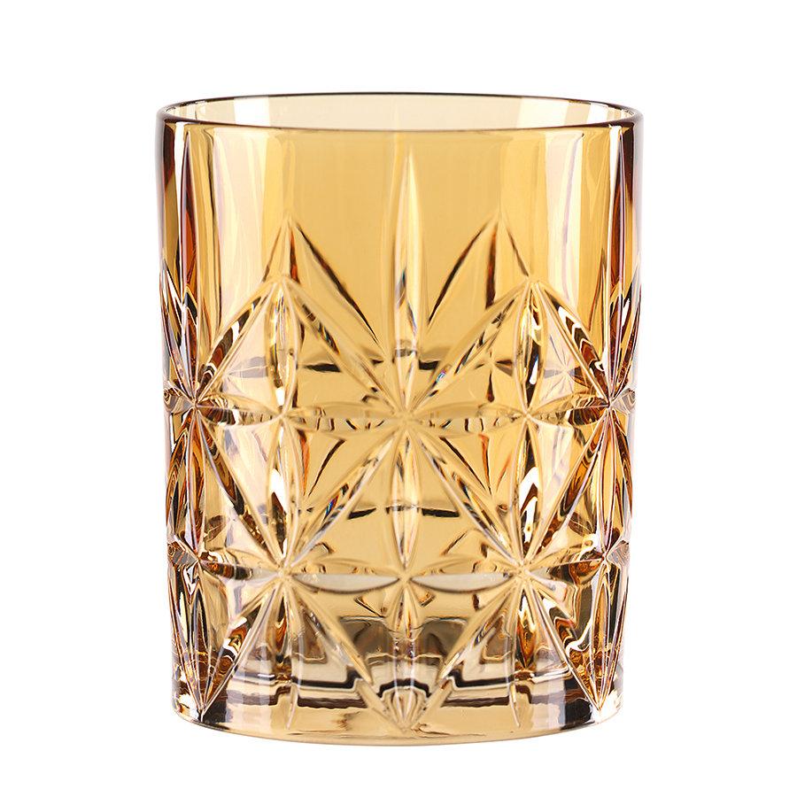 бокалы для виски Nachtmann Стакан для виски Highland, 345 мл, бессвинцовый хрусталь, оранжевый