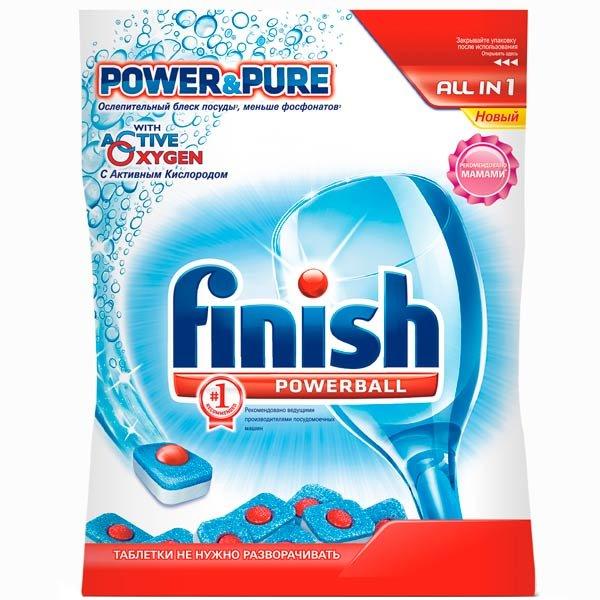 Моющее средство для посудомоечной машины Finish Powerball All in 1 26 таблеток