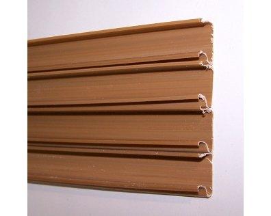 Торговая панель для оборудования магазинов: Комплект вставок, колличество: 23шт, пластик, цвет серый. - АП-302(сер)