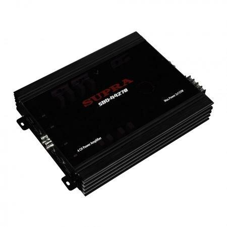 Автомобильный усилитель Supra SBD-A4270, 4x75W