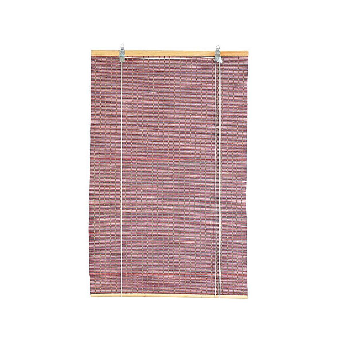 Жалюзи плетеные VERDEMAX 1,2x2,5м ива сиреневый розовый