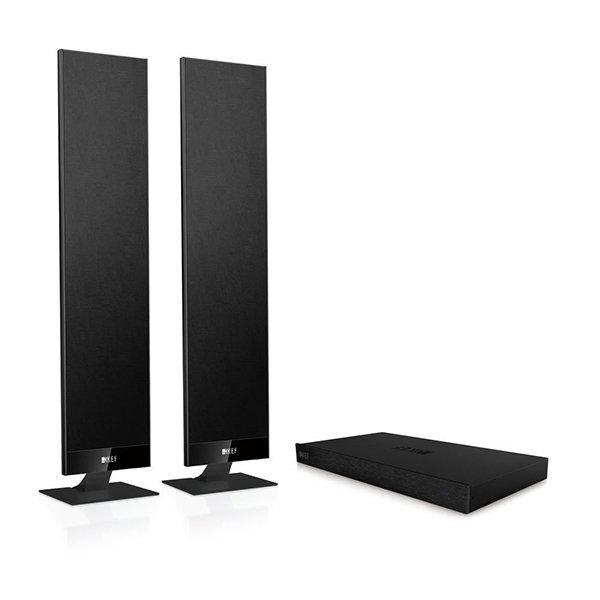 Система домашнего кинотеатра KEF V300 Black для ТВ черная SP3806BA