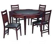 """Карточный столик со стульями """"Contender Colonial"""""""