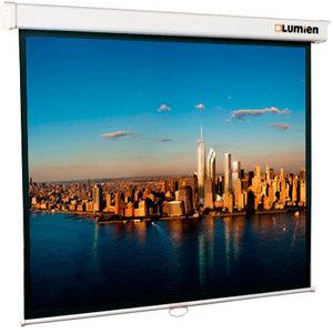 Экран LUMIEN Master Picture LMP-100103, 180х180 см, 1:1, настенно-потолочный