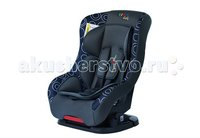 Автокресло Liko Baby LB 302 Серый/Синий/Круги