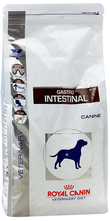 Сухой корм для собак Royal Gastro intestinal ГИ 25 при нарушениях пищеварения 2кг