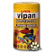 Sera Vipan хлопьевидный корм для декоративных рыб [250 мл]