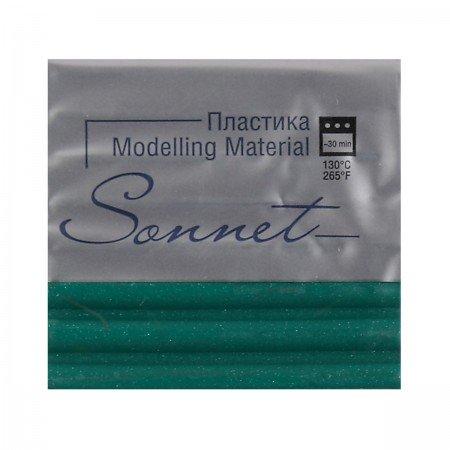 Пластика 1цв 56гр Sonnet 5966725 зелен с блестками