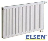 Радиатор панельный ELSEN ERV 22 500 500 (глубина мм-100) нижнее подключение, с термостатическим вентилем