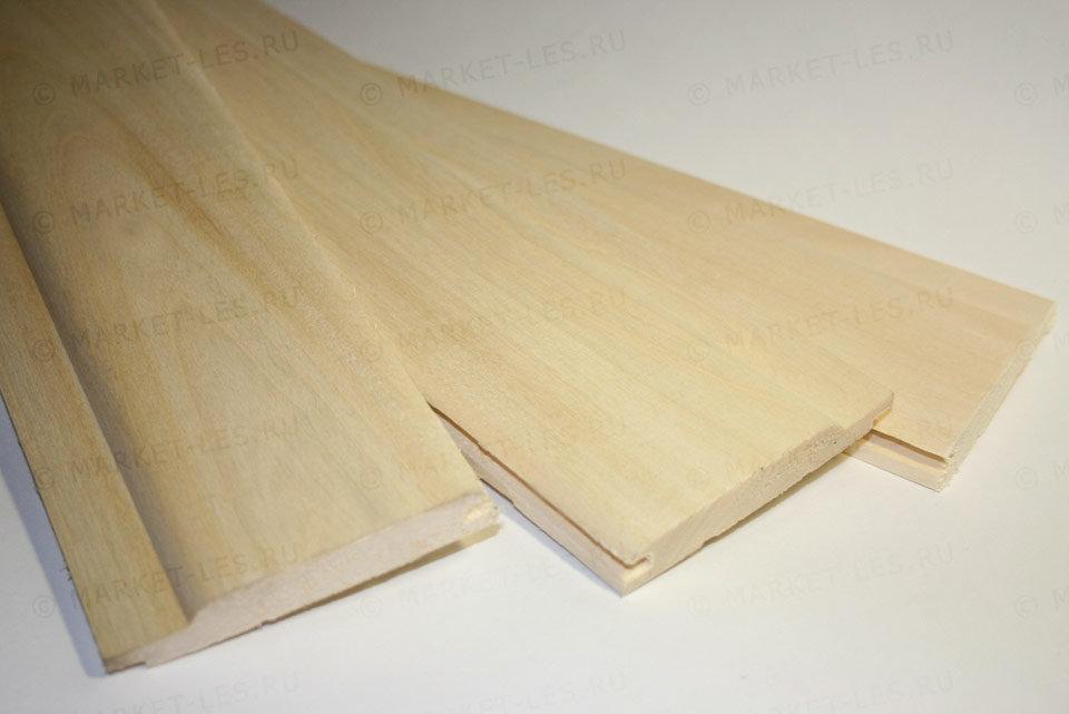 Вагонка из липы для бани и сауны 14х96 мм сорт А