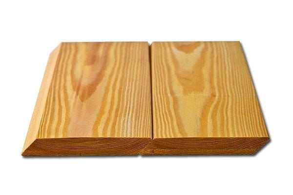планкен скошенный из лиственницы для