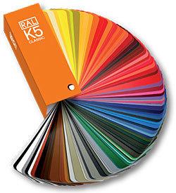 цветовой справочник RAL K5 матовый