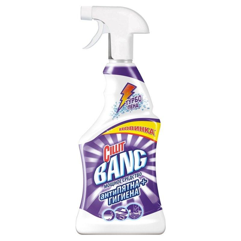 Средство чистящее CILLIT BANG Антипятна+Гигиена с распылителем 750мл