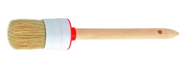 Кисть круглая 50мм светлая натуральная щетина
