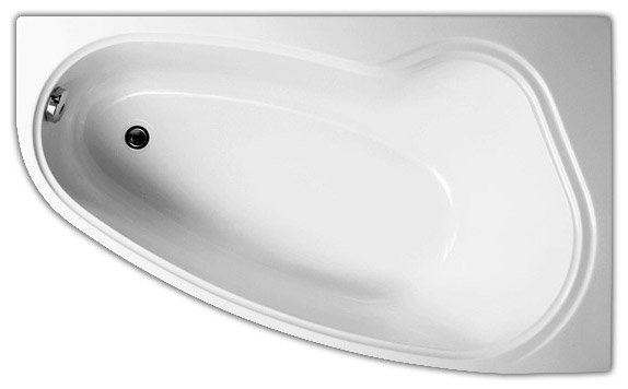 Акриловая ванна Vagnerplast Avona 150 R