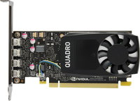 Видеокарта PNY Quadro P1000 PCI-E 3.0 4096Mb 128 bit HDCP (VCQP1000BLK-1)