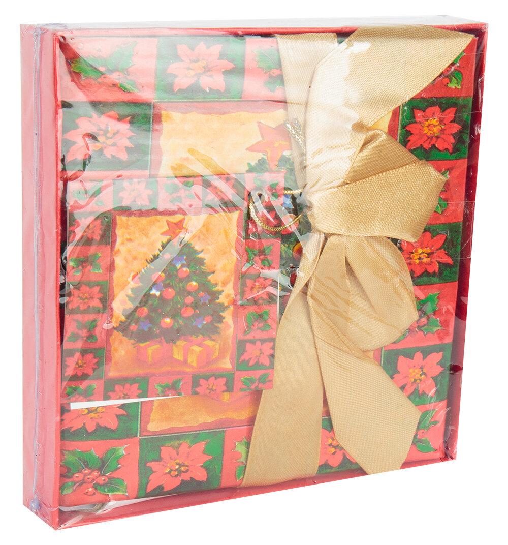 Коробка подарочная раскладная WINTER WINGS Новый год, 12 см