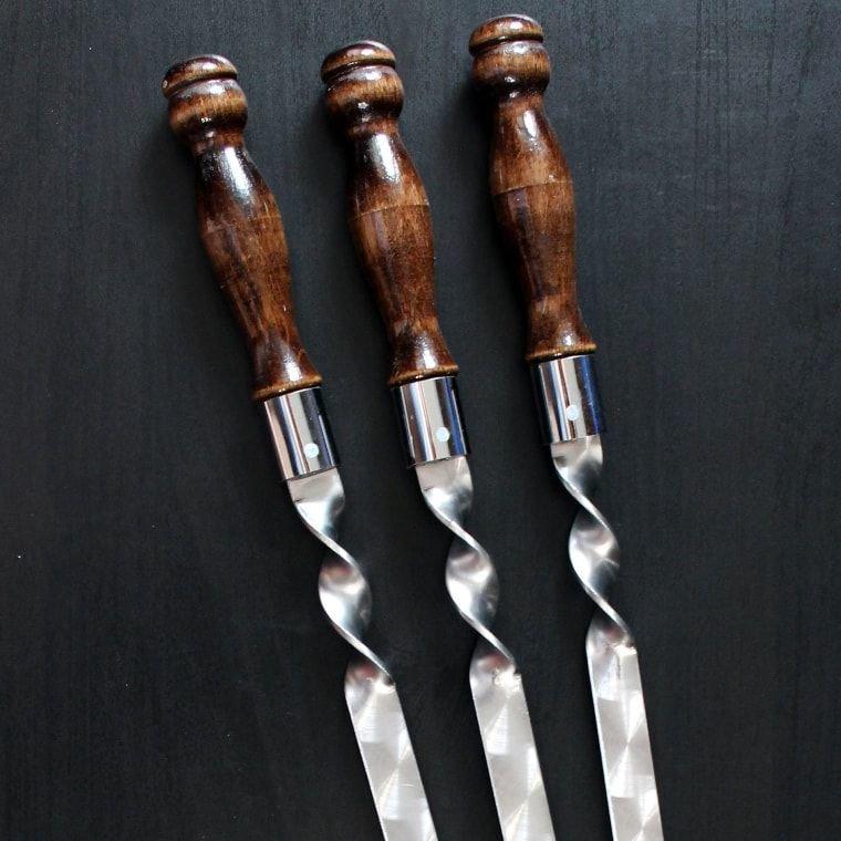 Шампуры для люля кебаб 450-20-3 мм