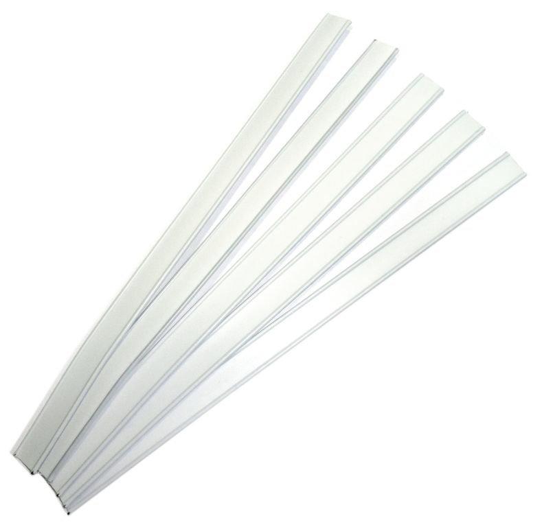 Клипсы для упаковки пакетов (белые).