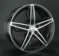 Диски LS Wheels 756 8,0x18 5x112 D66.6 ET40 цвет BKF (черный) - фото 1