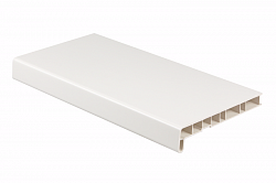 Подоконник ПВХ Crystallit Белый (сатин) 150мм