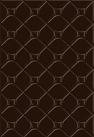 Керамическая плитка Майорка 3Т Плитка настенная коричневый 27,5х40