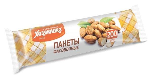 Пакеты фасовочные Хозяюшка Мила 09038