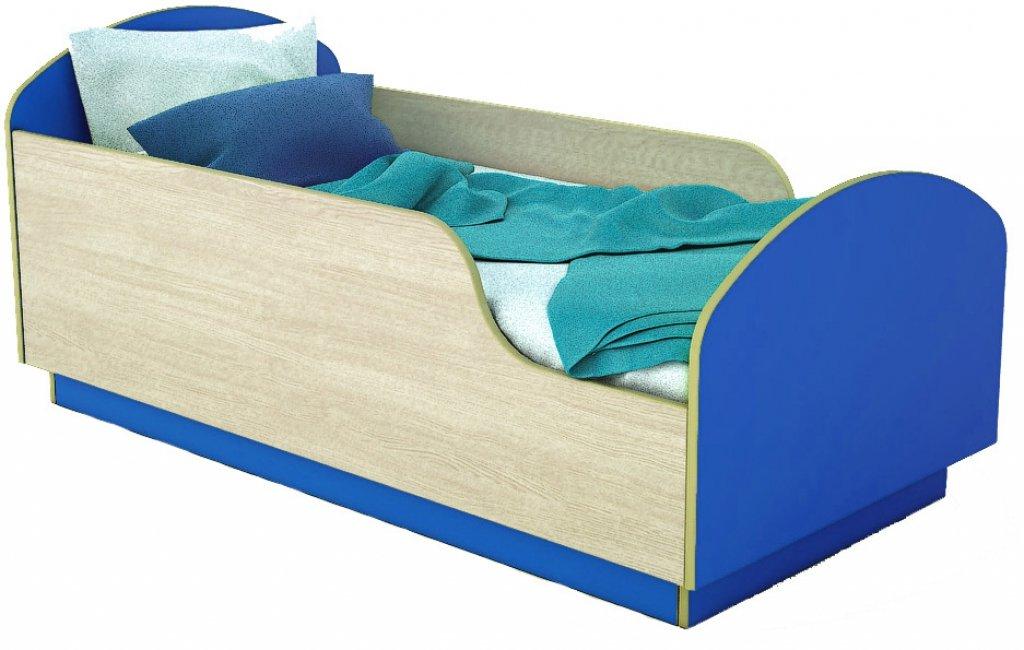 Детская Кровать Малыш 140 Синий