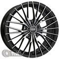 Диск колесный OZ Ego 8.5x19/5x108 D75 ET45 Matt black diamond cut - фото 1