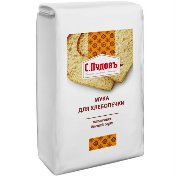 Мука для хлебопечки С.Пудовъ