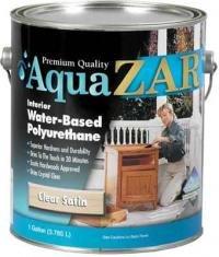 UGL Полиуретановый лак на водной основе AQUA Zar глянцевый. 0,946 литра.
