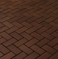 CRH Клинкерная тротуарная плитка CRH, Wega N, коричневый, 200x100x45