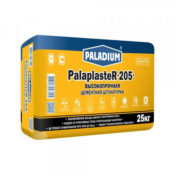 штукатурка цементная paladium palaplaster-205 (25 кг)