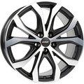 Диск Alutec W10 9x20/5x114,3 ЕТ35 D70,1 Racing black front polished - фото 1