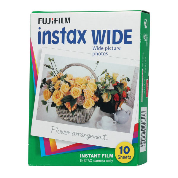 Фотоаппараты мгновенной печати Fujifilm Colorfilm instax wide (10/pk) картридж 16385983