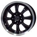 Автомобильные диски FR Design 588 7,5x17 5x105 ET 45 Dia 56,6 (BKVL) - фото 1