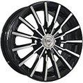 NZ Wheels SH647 6.5x16 5x108 ET 52.5 Dia 63.3 BKF - фото 1