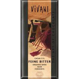 Шоколад темный, 71% какао. Vivani, 100 г