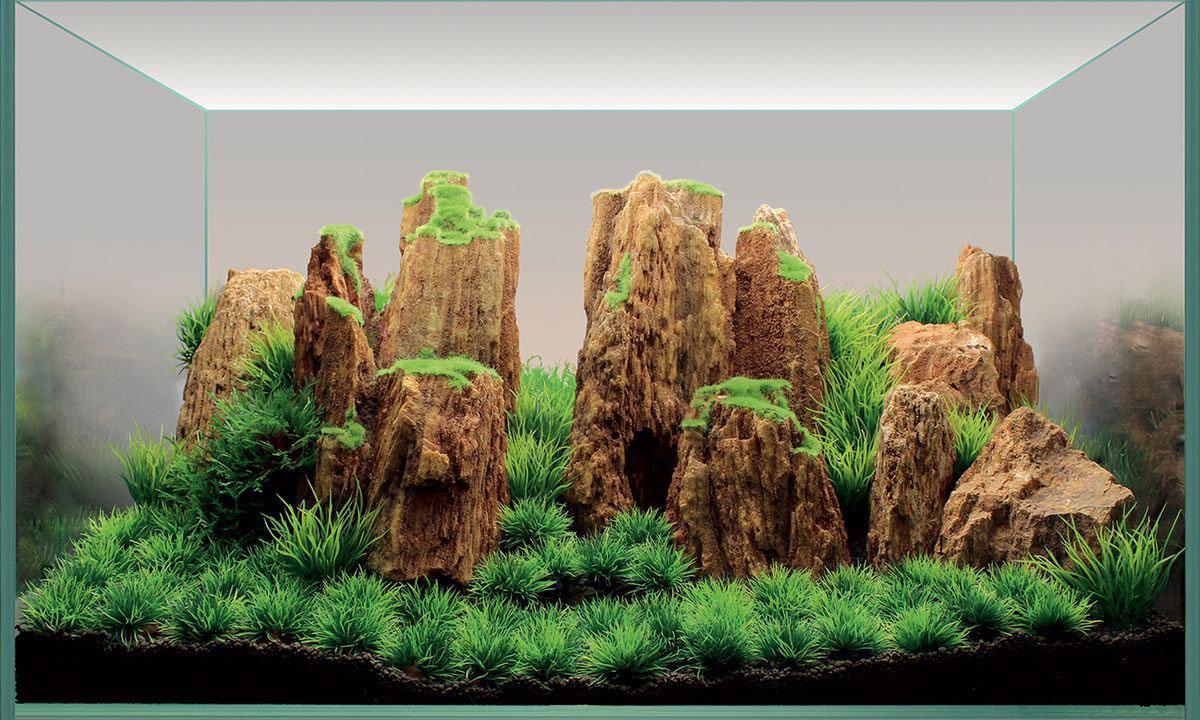"""Набор декораций для аквариума ArtUniq """"Древние горы"""", 60?35?30 см"""
