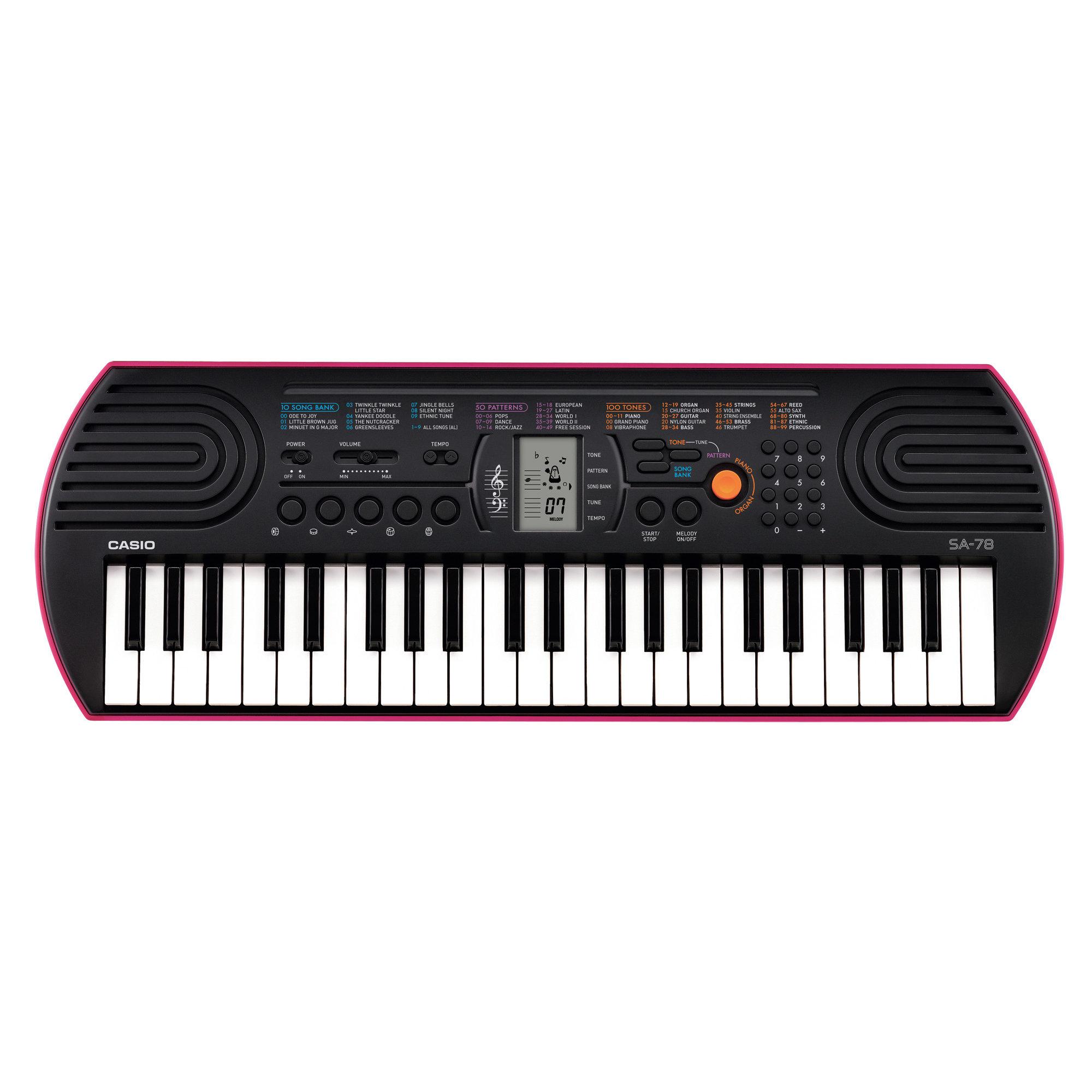 Синтезатор Casio SA-78, 44 мини-клавиши