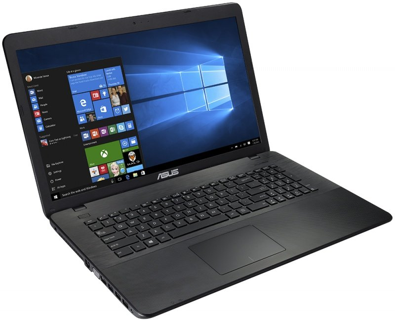Ноутбук ASUS X751NV-TY001T 90NB0EB1-M00330 (Intel Pentium N4200 1.1 GHz/4096Mb/1024Gb/NVIDIA GeForce GT 920MX 2Gb/Wi-Fi/Bluetooth/Cam/17.3/1600 х 900/Windows 10)