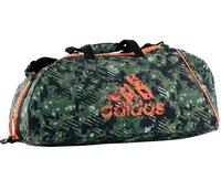 Сумка спортивная Combat Camo Bag M камуфляжно-оранжевая Adidas