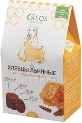 Олеос хлебцы льняные с медом и корицей 100,0