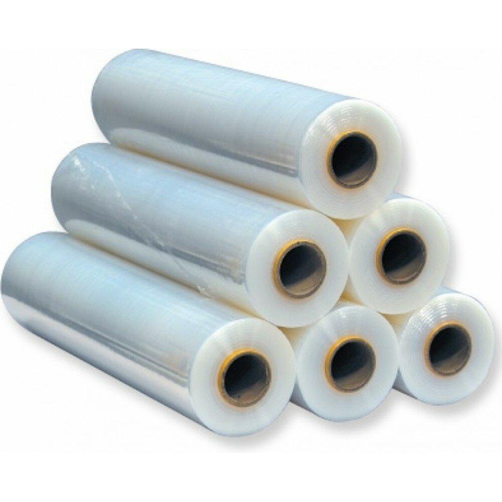 Стрейч-пленка прозрачная для ручной упаковки (50 см × 300 м × 20 мкм × 2.6 кг)