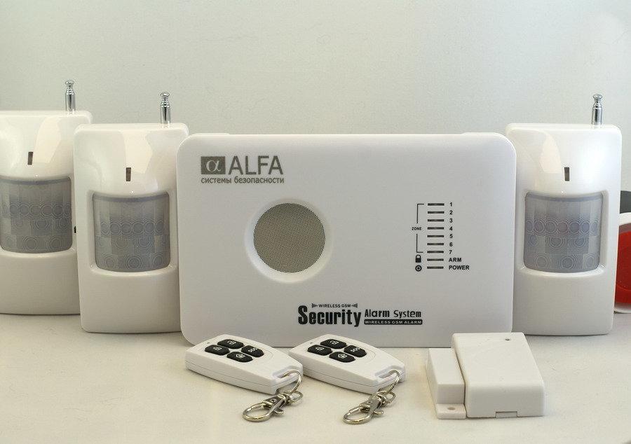 ALFA Охранная GSM сигнализация Страж A10-Д