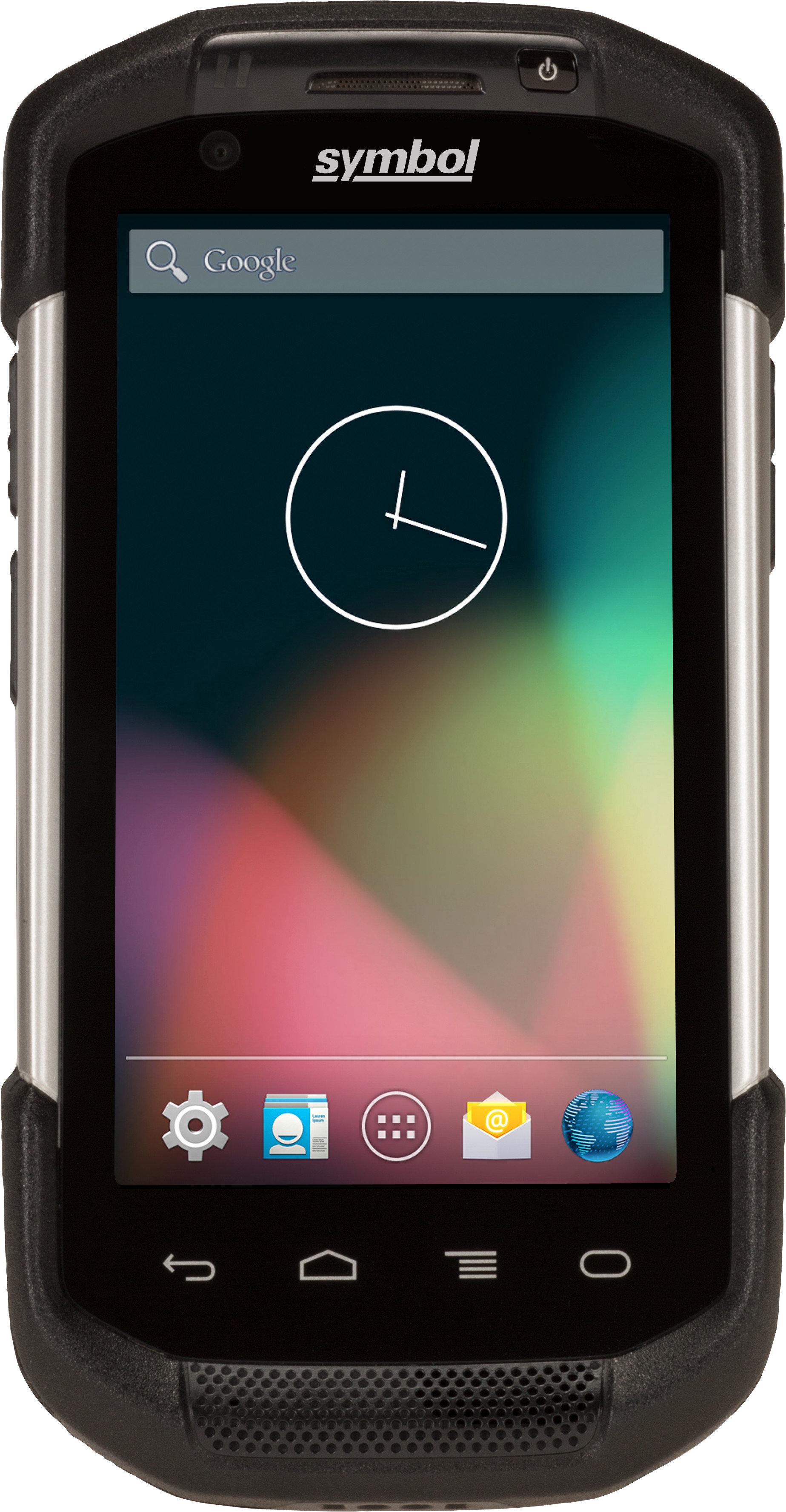 Терминал Zebra TC70; 2D; WiFi, Bluetooth, NFC, Android 4.2.2, стандартная батарея, 2 камеры, TC700H-KC11ES-IN